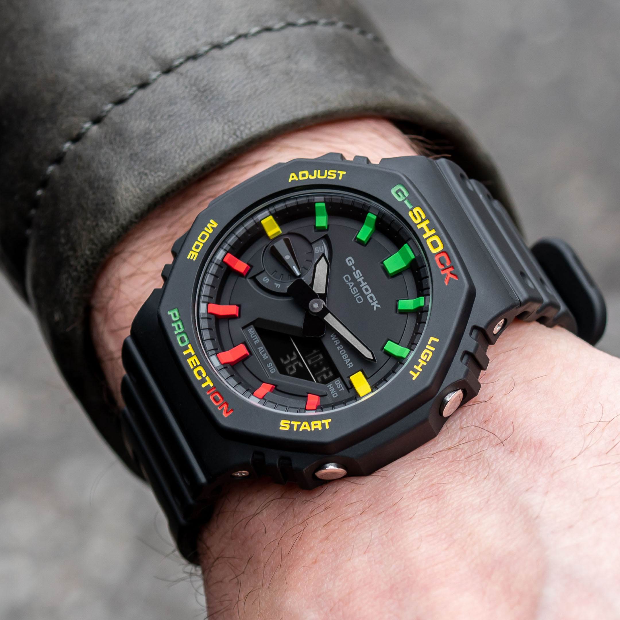 Custom Casio G-Shock CasiOak 420 Limited Edition IFLW x The Dial Artist Collaboration Hand-painted